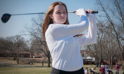 Richard R. Barron | The Ada News -- Ada junior Kylee Cutler and her Lady Cougar teammates will compete in a Class 4A Regional Tournament in Seminole on April 27. The Top 3 teams in the regional advance to the Class 4A State Tournament scheduled for May 5-6 at the Buffalo Rock Golf Course in Hennessey.
