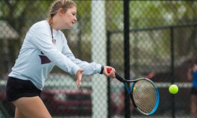 The Ada High girls tennis team finished third at their own weather-delayed tournament last week. Duncan won the team title with 49 points, the Byng Lady Pirates were next at 49 and Ada, Durant and Seminole all finished in a three-way tie for third place with 47 points. Ada finished the day with two runner-ups in doubles. In the No. 1 Doubles bracket, the Byng team of Livi Colombe and Trenity Miller knocked off Gentri Langley and Emma Summers 6-1, 6-2 in the title match. Ada's Ava Bolin and Ahna Redwine dropped a tough 6-3, 5-7, 10-7 decision to Emma Moore and Sheridan White of Duncan in the No. 2 Doubles title contest. In No. 1 Singles, Ada's Macy Lowrance dropped a 6-2, 6-0 decision to Kassie Canant of Durant in the 7th-place match. And Ada's Abby Machetta defeated Natalie Choate of Seminole 6-3, 6-1 to capture fifth place. Ada's Joelly Brassfield teamed up with Lincoln Smith in No. 2 Doubles and fell to the Byng duo of CJ Lee and Caylee Parry 6-1, 7-5 in the seventh-place match. In the No. 2 Singles draw, Emma Underwood of Byng advanced to the championship match before falling to Alyssa Mitchell of Duncan 6-2, 6-1. McAlester's Lexi Zurovewtz got past Hope Rice of Byng 6-4, 6-1 in the No. 1 Singles fifth-place contest.