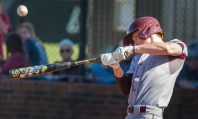 Richard R. Barron | The Ada News -- Ada's John David Muse had one of four Ada hits and scored three runs in the Cougars' 13-0 win over Drumright Saturday in Atoka.
