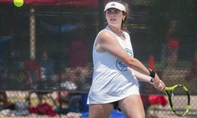 Richard R. Barron | The Ada News -- Ada sophomore Ava Bolin and partner Ahna Redwine finished as runners-up in No. 2 Doubles at the Class 5A State Tournament last weekend at the Oklahoma City Tennis Center.