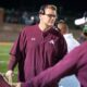 Richard R. Barron | The Ada News After four years at the helm of the Ada High School football program, head coach Chris Berus is stepping away to take another position in the Edmond School District.