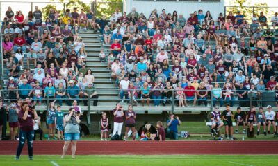Richard R. Barron | The Ada News -- Fans of Ada athletics packed into the stands at the Craig McBroom Football Complex for the first-ever Fall Cougar Preview.
